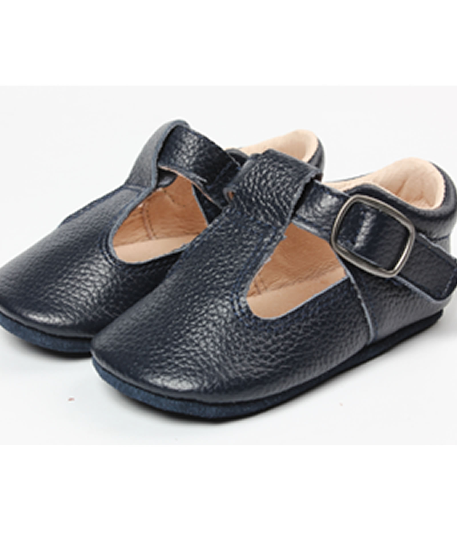 The Shaughnessy Shoe Navy Aston Baby